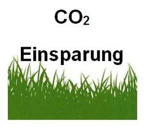 CO2-Einsparung